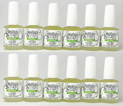 Harmony Gelish Nourish Cuticle Oil Treatment 15ml / .5 oz *PICK YOUR QUANTITIES*