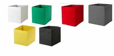 IKEA DRONA Storage Box Expedit Bookcase Fabric Cube Toy Organiser Assorted Color