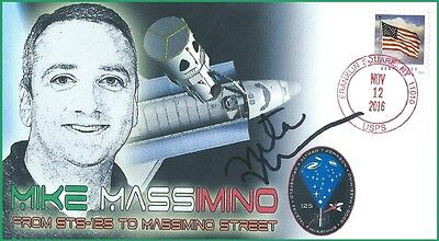 Space Shuttle Mission Specialist STS-109/125 Mike Massimino Street Dedication