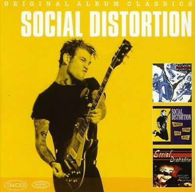 Social Distortion Original Album Classics 3 CD NEW sealed