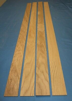 Wood laminate American Oak laminate  for  bow construction 2000 x 45 x 2,5mm
