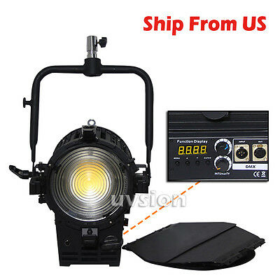 200W Bi-Color LED Spot Light Studio Fresnel For Movie Camera