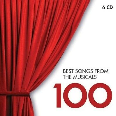 Various Artist Best Songs From Musicals 100 6 CD NEW sealed