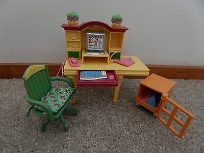 Fisher Price Loving Family Dollhouse Study Furniture