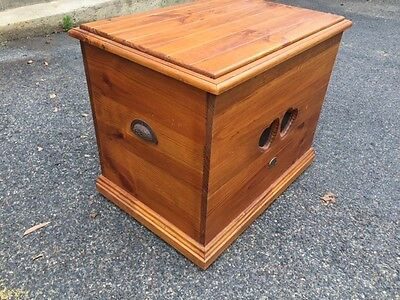Wooden Country Firewood/storage Box