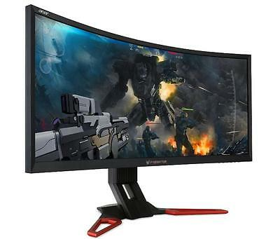 "Acer 35"" Predator Z35 Curved UW-UXGA Gaming LED Monitor 2560x1080 G-Sync 144Hz"