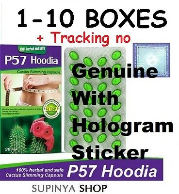 1-10 boxes HOODIA 57 Herbal Cactus Extract Strong Weight Loss Diet Slimming Pil.