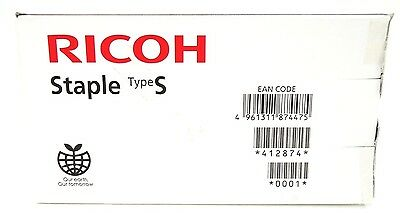 Ricoh - Lanier - Savin - Staple - Type S - Cartridge - Oem - New - Edp: 412874
