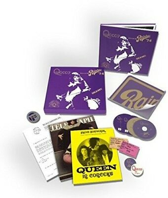 Queen Live At The Rainbow deluxe 2 CD/DVD/Blu-ray + hardcover book NEW sealed