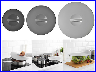3 Size- Vacuum Lids for Cooking -Protect from Splatter in/on Oven and Microwave