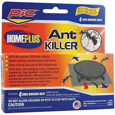 PIC AT-4AB Plastic Ant Killing Bait Stations