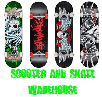 Tony Hawk Birdhouse Complete Skateboard - Choose A Design - Free Delivery