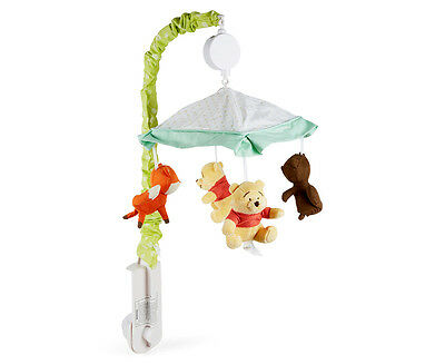 Disney Baby Pooh Woodland Whimsy Musical Mobile - Green