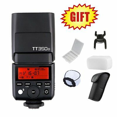 Godox TT350O 2.4G TTL Flash Speedlite for Olympus / Panasonic Mirrorless Camera