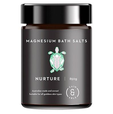 Caim & Able Magnesium Bath Salts 100% Natural and Australian Made 850g