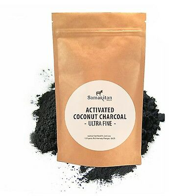 > 100% PURE ACTIVATED CHARCOAL POWDER (coconut shell) Teeth Whitening,