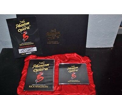 1*f8 LIMITED EDITION** Deluxe Boxed Set Of The Phantom Of The Opera-Rick Wakeman