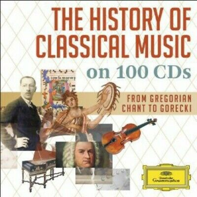 V/A History Of Classical Music On 100 Cd's  100 CD NEW sealed