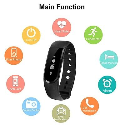 Fitness Tracker Willful® Activity Tracker Cardio Hr Pedometro Cardiofrequenzimet