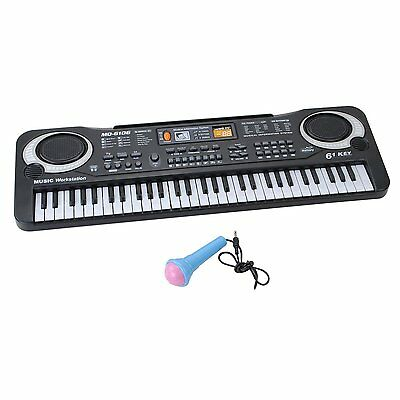61 Keys Digital Music Electronic Keyboard Key Board Electric Piano Gift