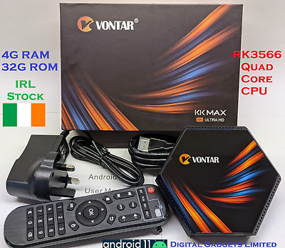 3x Genuine MAG254 w1 Mag 254 WiFi Build in, HDMI, Original Box Made By Infomir