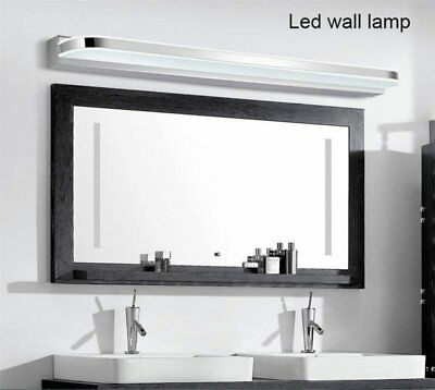 Bathroom Wall Light Mirror Front LED Lighting Waterproof Antifogging 12W / 14W