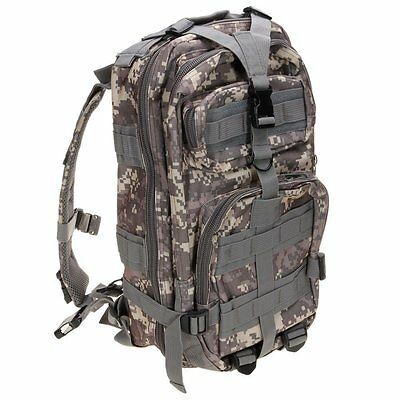 Waterproof 3p Backpack Bag Unisex Rucksack Military Pack Tactical ACU Camouflage