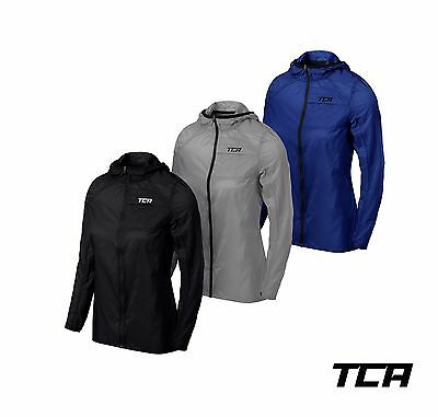 TCA Women's Airlite Packable Lightweight Sports Running Jacket - Water Resistant