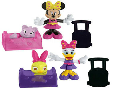 2 Pack Disney Minnie Mouse and Daisy Duck Glam Travel with Accessories 2 Years +