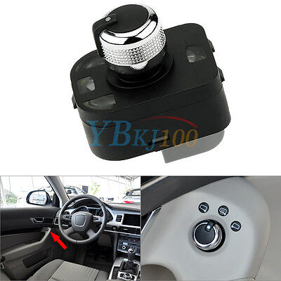 Auto Car Rearview Mirror Switch Knob 4F0959565 New For Audi A2 A3 A4 A6 A8 Q7 R8