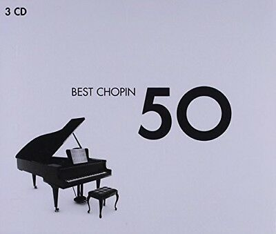 Various Artist Best Chopin 50 3 CD NEW sealed