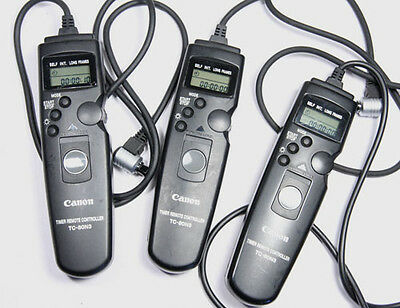 Genuine Canon TC-80N3 Timer Remote Controller for EOS 5D 1D 1Dx 1Ds II III IV +