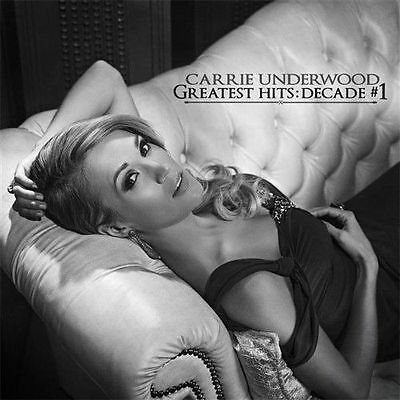Carrie Underwood Greatest Hits Decade #1 2 Cd New