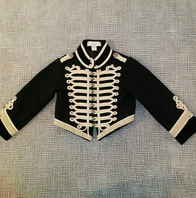 stella mccartney for baby gap marching band military jacket 3t
