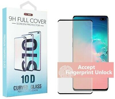 3D Curved Samsung Galaxy S8/S8 Plus Full Cover Tempered Glass Screen Protector
