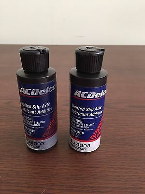 AC Delco 10-4003  Limited Slip Axle Lubricant Additive - 2 - 4 oz Bottles