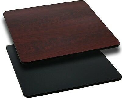 """New 36"""" Square Table Top Mahogany Laminate Residential Furniture Tables"""