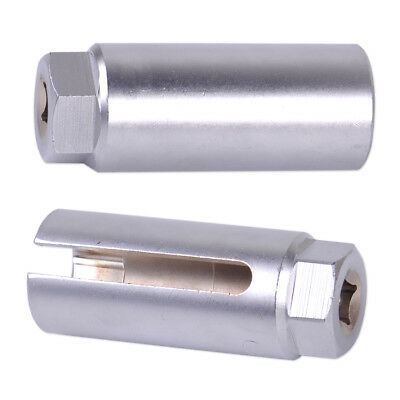 """22mm 3/8"""" Driver Auto O2 Oxygen Sensor Socket Wrench Offset Removal Hand Tool"""