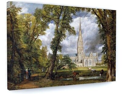 """/""""Salisbury Cathedral from Bishop/'s Grounds/"""" — Fine Art Print John Constable"""