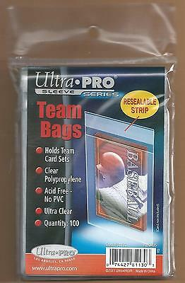 5000 Ultra Pro Sports Card Team Bags (50 Packs of 100) - BRAND NEW