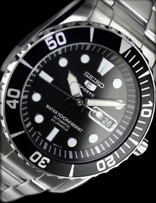 Seiko Men Automatic Oyster Diver's Watch 100m Snzf17 Snzf17k1