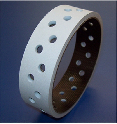 44485003 Perforated Vacuum Belt for use with Streamfeeder Friction Feeder
