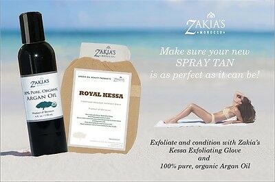 Spray Tan Removal/Argan Oil and Kessa  and Skin Saver