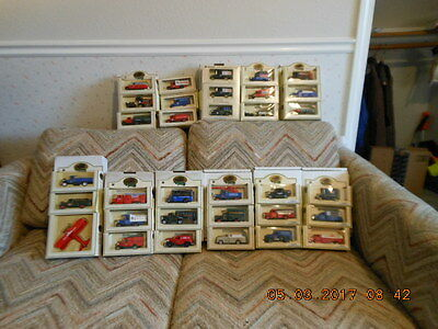 "ALL THE SETS OF LLEDO's ""DAYS GONE"" CHEVRON COMMEMORATIVE REPLICA TRUCK SERIES"