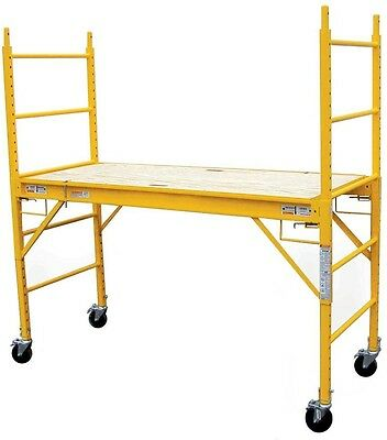 PRO-SERIES Multi Use Drywall Baker Scaffolding With 1000 Lb. Load Capacity G