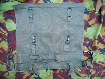 RARE early 1st type 58 PATTERN WEBBING poncho roll 1982 DATED Falklands War