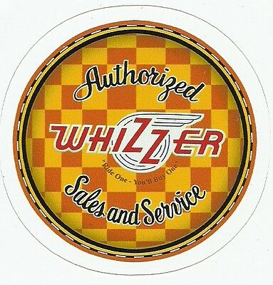 WHIZZER MOTORBIKE  MOTORCYCLE Sticker Decal