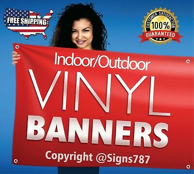 Custom Banner 13oz Full Color ***FREE SHIPPING****