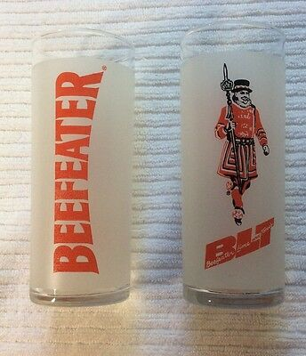Beefeater Gin Lime, Tonic & Gin Frosted with Logo Highball Glasses - Set of 2