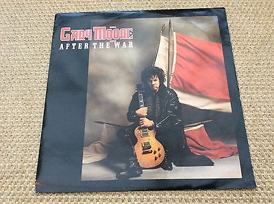 "Gary Moore. After The War. 12"" Single. GMST1."